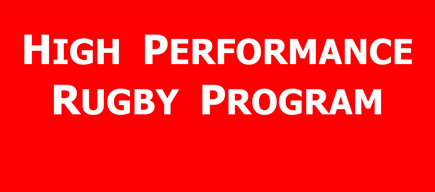 High Performance Rugby Program